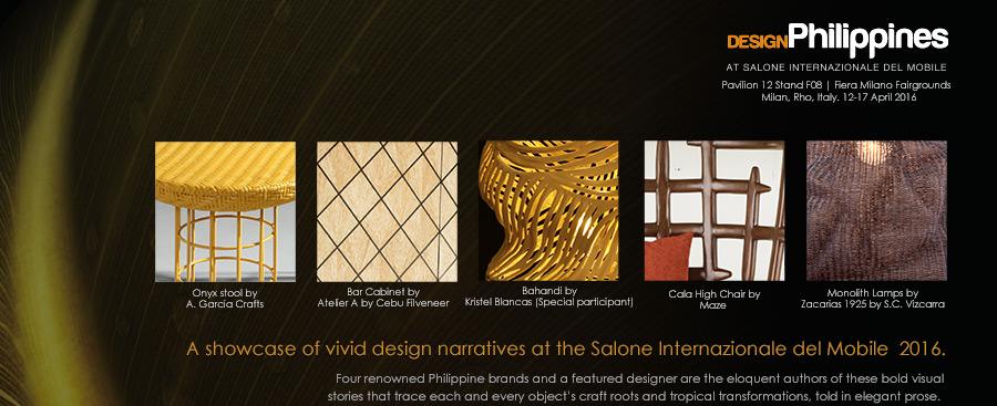 Design Philippines at Salone 2016